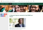 A. Benjamin Spencer Selected to Lead W&M Law School