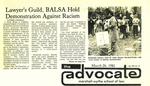 Lawyer's Guild, BALSA Hold Demonstration Against Racism