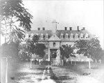 Wren Building circa 1858 by College of William & Mary