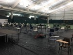 Tennis Center Retrofitted For Classes by Eric Chason