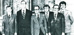 Newcomers to the Law Faculty (1970-71)