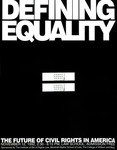 Defining Equality: The Future of Civil Rights in America