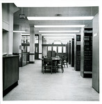 The Library in Marshall-Wythe Hall (circa 1968)
