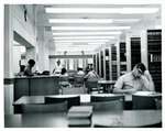 The Library in Use in Marshall-Wythe Hall (circa 1968)