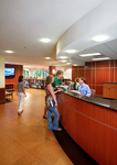 The Wolf Law Library: Circulation Desk (circa 2007) by Chris Cunningham