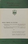 William & Mary Law Review Volume 1, Issue 1