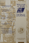 William & Mary Bill of Rights Journal Volume 1, Issue 1