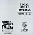 Legal Skills Program: Marshall-Wythe School of Law