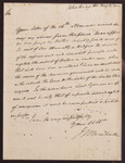 Letter from John Marshall to Unknown Recipient by John Marshall