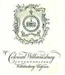 Colonial Williamsburg Incorporated, Williamsburg, Virginia