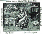 Caxton Stephen Ginnta; Nullus Amicus Magis Libet Quam Liber; Aldus Gutenberg Derard; Ex Libris