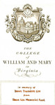 The College of William and Mary in Virginia: In Memory of Theodore Cox from Dean Cox Memorial Fund