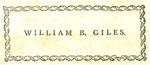 William B. Giles
