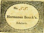 Hermanus Bouck's. Schoharie.