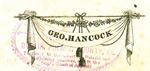 Geo. Hancock