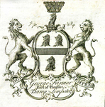 George Farmor, Earl of Pomfret, Baron Lempster. 1756