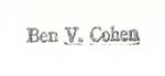 Ben V. Cohen