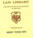 From Law Offices [...] W. Davis Norfolk, Virginia