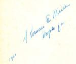 1923 Roman E Miller Norfolk Va