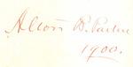 Alton B. Parker 1900.