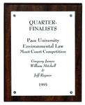 Pace University Environmental Law Moot Court Competition: Quarter-Finalists