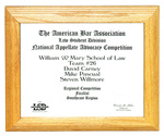 The American Bar Association Law Student Division National Appellate Advocacy Competition: Finalist