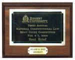 Third Annual National Constitutional Law Moot Court Competition: Best Brief