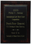 Philip C. Jessup International Law Moot Court Competition: Fourth Place - Memorial
