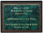 Mid-Atlantic Black Law Students Association: Chapter of the Year