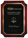 2nd Annual John L. Costello Criminal Law Competition: First Place
