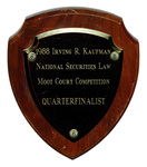 Irving R. Kaufman National Securities Law Moot Court Competition: Quarterfinalists