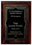 Charleston School of Law, National Moot Court Competition: Team Quarter Finalist