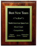 North American Space Law Moot Court Competition: Best New Team
