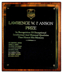 Lawrence W. I'Anson Prize