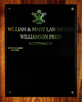 William & Mary Law Review Williamson Prize
