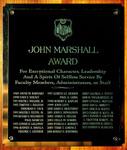 John Marshall Award