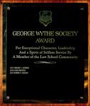 George Wythe Society Award